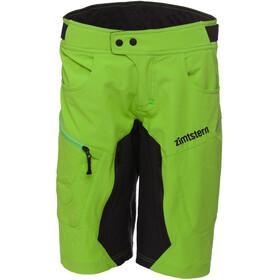 Zimtstern Taila fietsbroek kort Dames groen/zwart